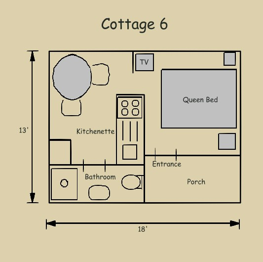 Cottage 6 | Cottage Grove | Eastham, MA